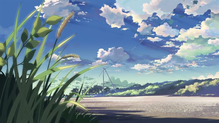 Anime Landscape Wallpaper HD | PixelsTalk.Net