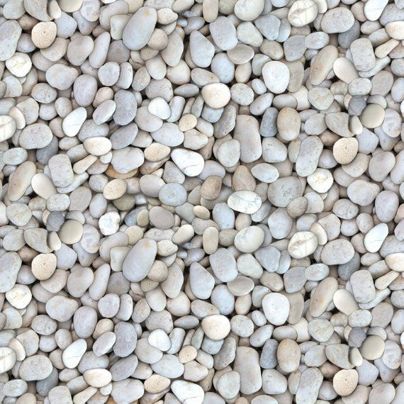 White Beach Pebbles Landscape Fabric Elizabeths Studios 564e Wht By The Yard Landscape Fabric Pebble Landscaping Bright Summer Acrylic Nails