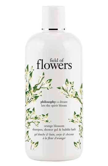 philosophy 'field of flowers - orange blossom' shampoo, shower gel & bubble bath available at Nordstrom