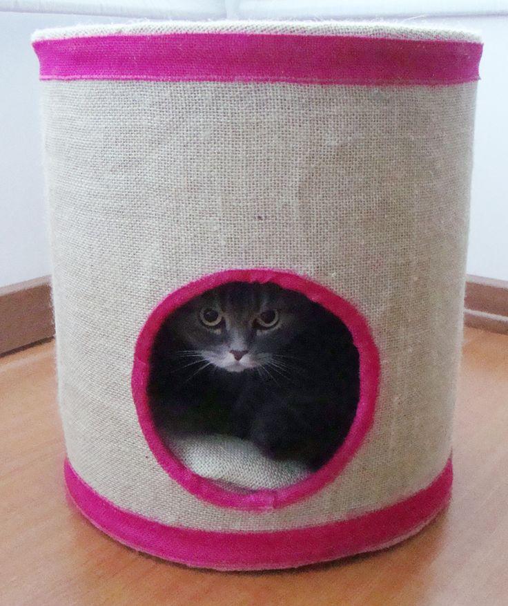 1000 images about camas y juguetes para gatos on - Cama para gato ...