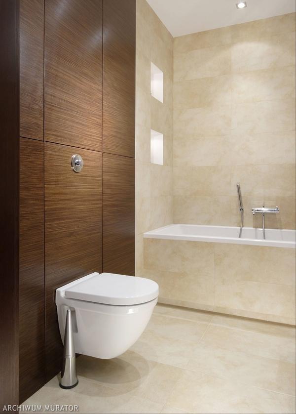 Zdjęcia łazienki: aranżacja: Aranżacja Łazienki, Biel, Łazienki Jest, Czyli Aranżacja, Wystrój Łazienki, Zdjęcia Łazienki, Bathroom, Beżowym Kolorz, Dzięki Temu