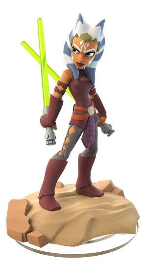 Disney Infinity 3.0 Figure: Ahsoka Tano (Wave 1, Twilight of the Republic Play Set, Included in Play Set or in Starter Pack)