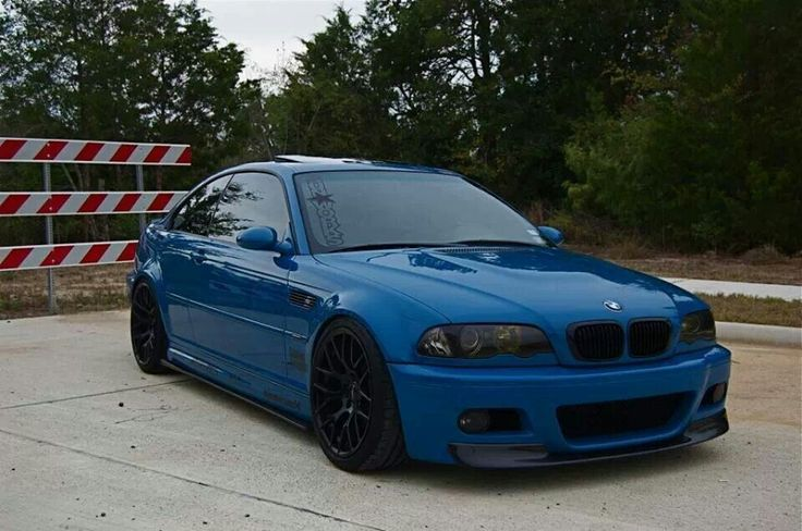 Beautiful Blue BMW E46 M3