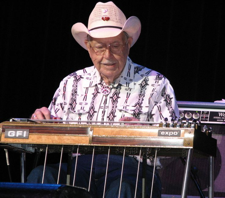 Mr. Mooney played pedal steel guitar on hit recordings by Merle Haggard and Waylon Jennings and was a pioneer of the Bakersfield sound that took root in California in the late 1950s.