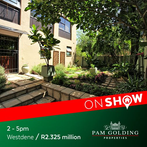 On Show Sunday 2 October from 2 - 5pm. Click for more information. #OnShow #ForSale #Westdene