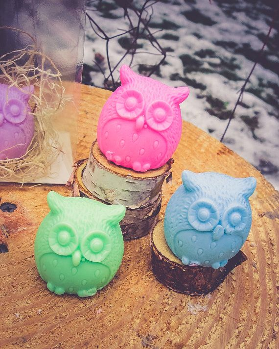 Hey, I found this really awesome Etsy listing at https://www.etsy.com/listing/267367898/owl-soap-owl-party-favor-owl-birthday