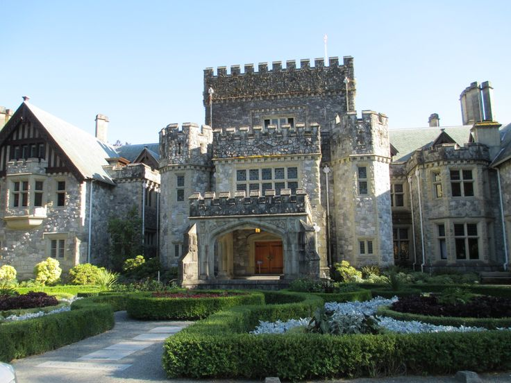 Dream Castle in Victoria. Hatley Castle. Beautiful location on Victoria BC. We wandered the grounds alone.