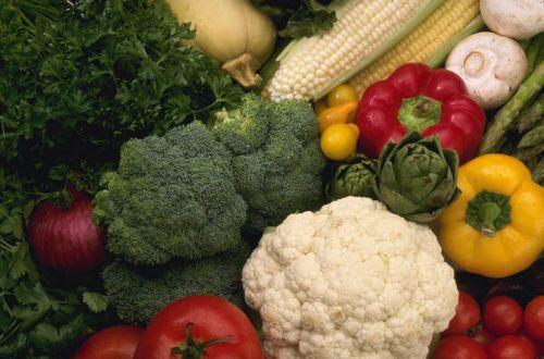 La verdura di stagione nello svezzamento