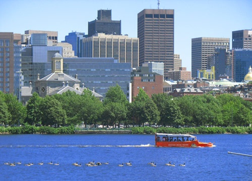Duck Tour in Boston.  Outrageously fun way to see the city.