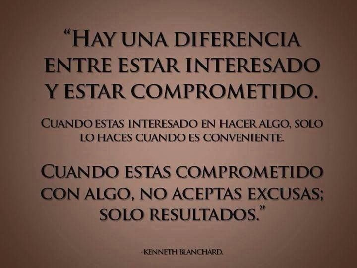 Interés vs compromiso