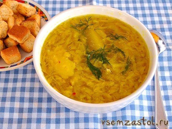 Самый легкий и быстрый овощной суп