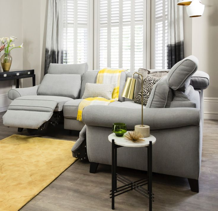 Get the very ultimate in comfort with ROM Sofas' Aladin app, available on the Fortuna Sofa  #sofa #comfort #smarthome #app  http://www.romsofas.co.uk/sofa-collections/fortuna/