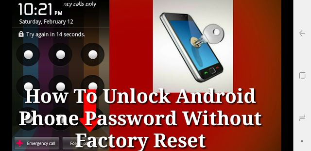 Password unlock my Locked Out
