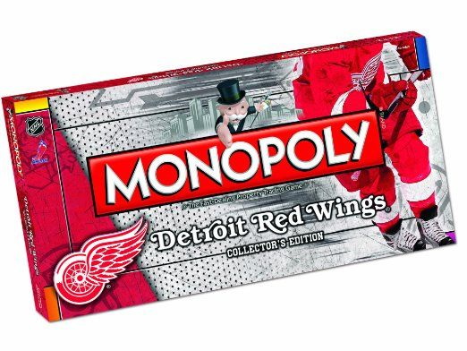 Monopoly Detroit Red Wings Edition