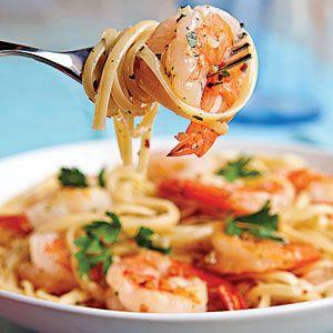 5 Easy Pasta Recipes   Shrimp Scampi Linguine   CoastalLiving.com