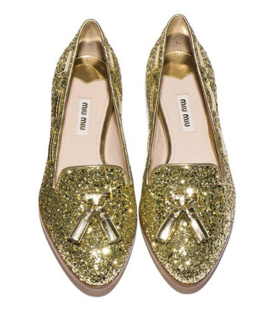 Miu Miu loafers for fall 2012