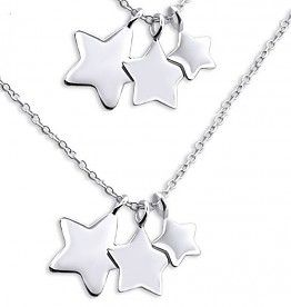 Silver Mom & Me chains 'I Love you to the Stars & Back' £46.90