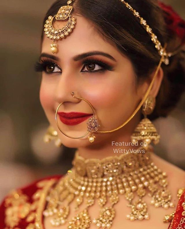 Best Of 2018 Our Favourite Bridal Looks From 2018 Stunning Indian Brides Bridal M Traditional Bridal Jewelry Indian Bridal Makeup Bridal Makeup Looks
