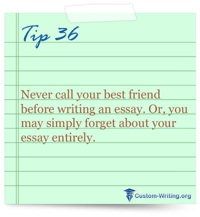 Auto essay write tips