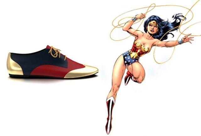 Quand les personnages de comics inspirent une créatrice de mode, ça donne une collection de chaussures canons aux couleurs de Batman, Wonder Woman ou encore Loki !
