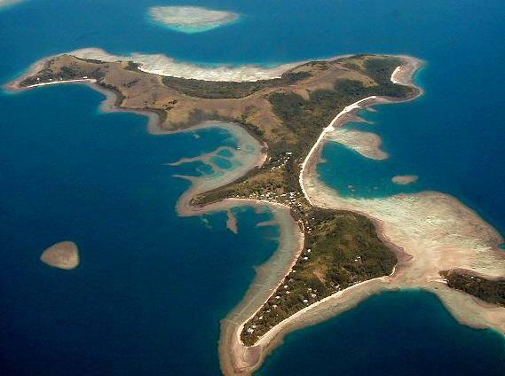 Nananu-i-ra Fiji.... Matts Dad used to live here