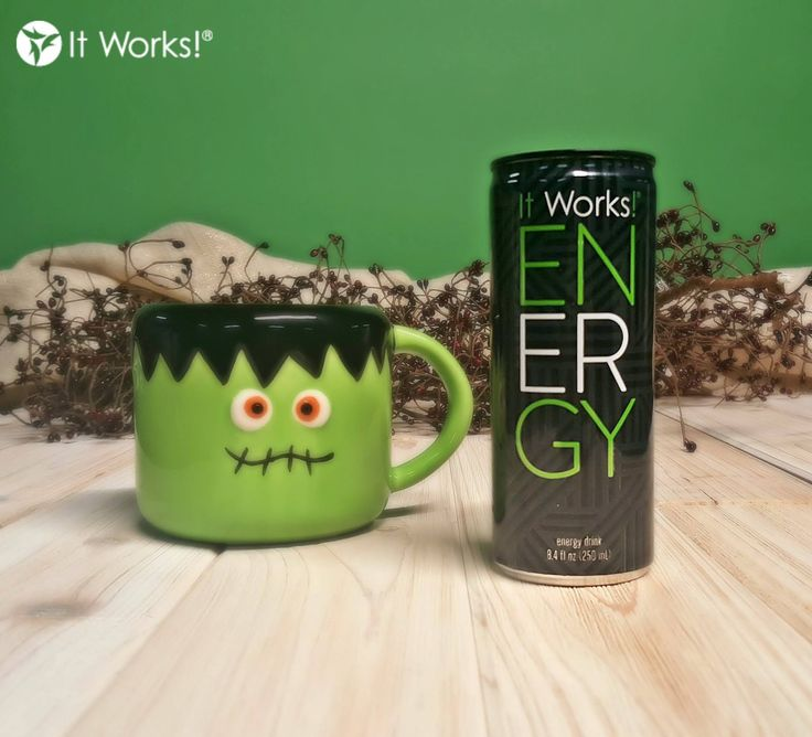 Don't be spooked, we're just bringing the #BOOM with our fave fall pick-me-up, ENERGY! #Wraptober