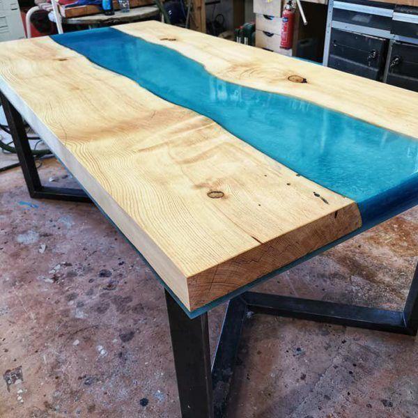 Come Fare Tavolo In Resina E Legno Tipo Fiume Live Edge O River Table Interior Design Design Edge Fare Fiume Interior Legno Live Resina River Holz