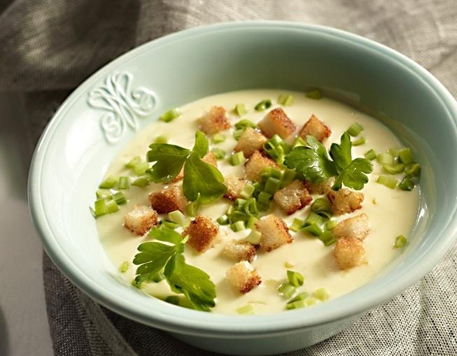 Zupa serowa z grzankami #lidl #przepis #zupa #ser #grzanki