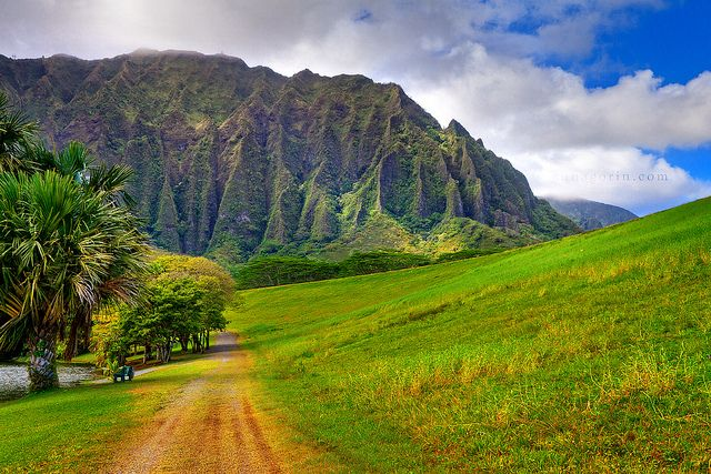 Island mountains (Kaneohe, Hawaii)