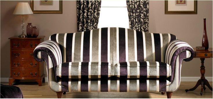 ELEGANZA COLLECTION #velvet #terciopelo #vellut #tapicería #tapisseria #sofa #stripes #listas #ratlles