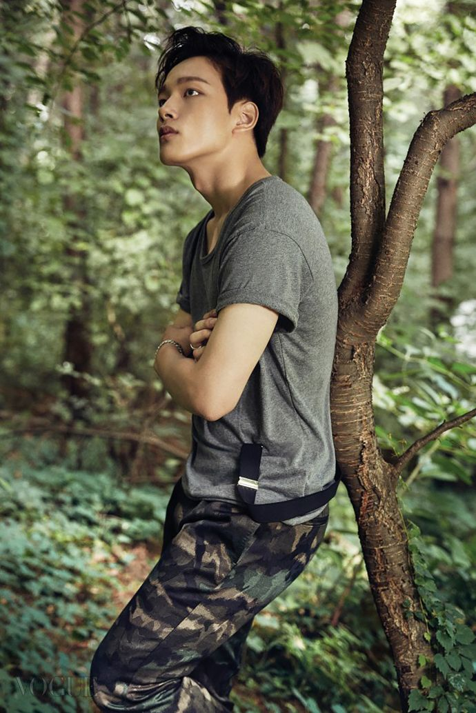 yeo jin goo spills his charm in the september pages of elle vogue - Jingoo Photo Mariage