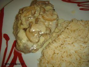 Betty's Cuisine: Ψαρονέφρι αλά κρεμ
