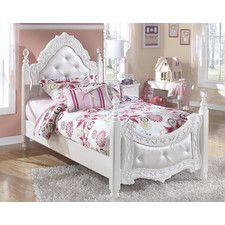 Epic Exquisite Kids Four Poster Bed Prinzessin