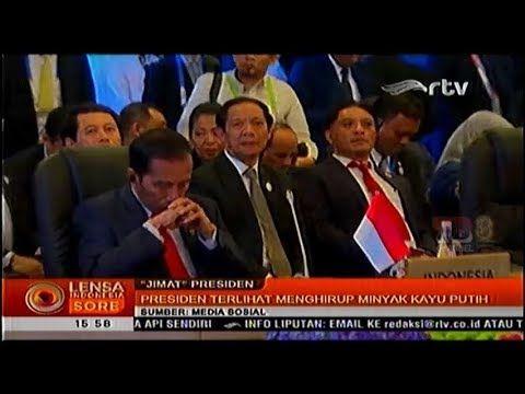 Ketahuan Hirup Minyak Angin, Ini Jawaban P JOKOWI - KTT ASEAN