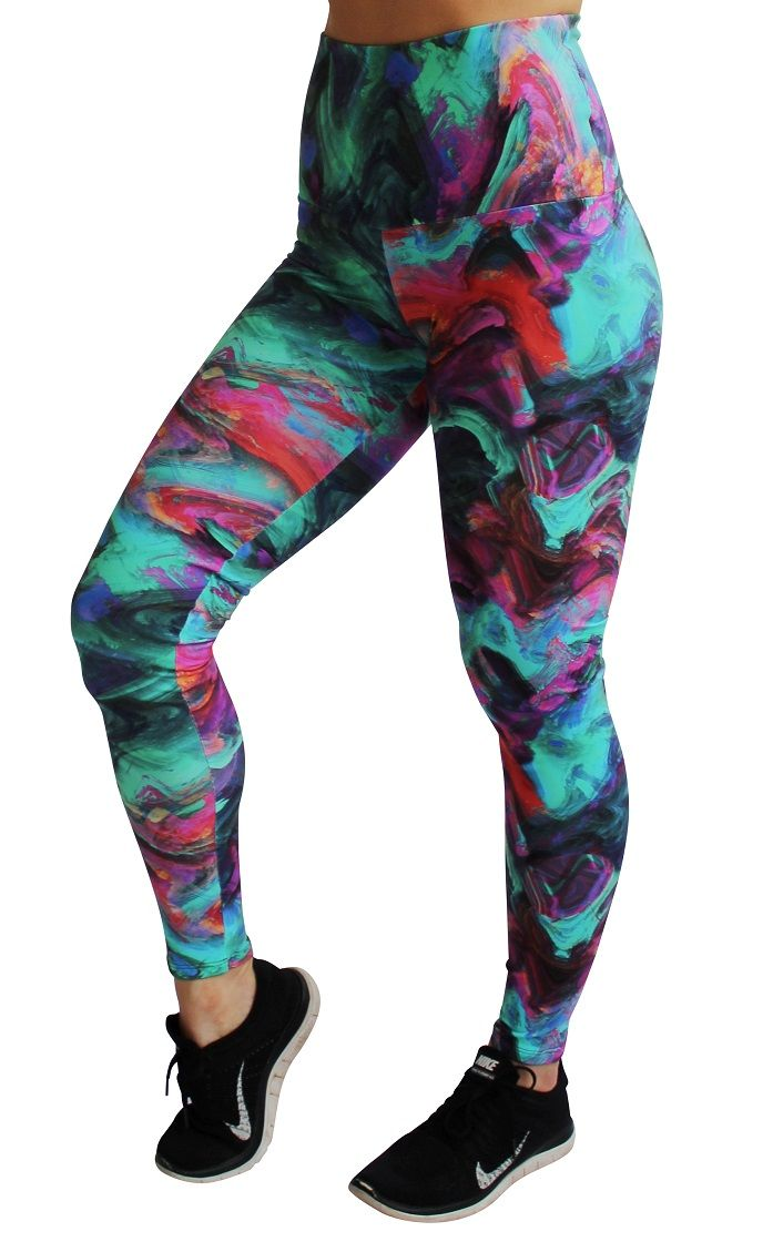 Rola Moca 'Aurora' high waist full length tights. These are the comfiest tights ever | No muffin top | Perfect for during and after pregnancy | Shop now at www.runfastergear.com.au #runfastergear #activewear #fitmum