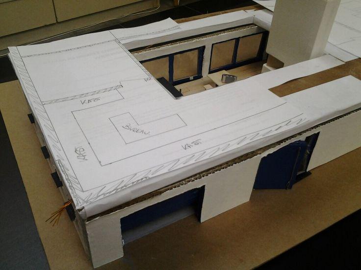 Plannen voor de bovenverdieping Miniatuur