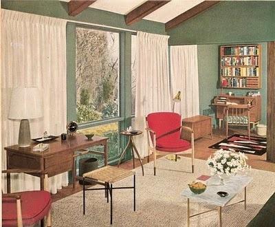 1950s interior design. 1950's interior design from better homes