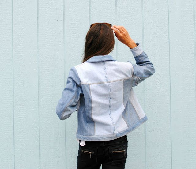 Trash To Couture: Named Clothing Maisa Denim Jacket from Upcycled Jeans