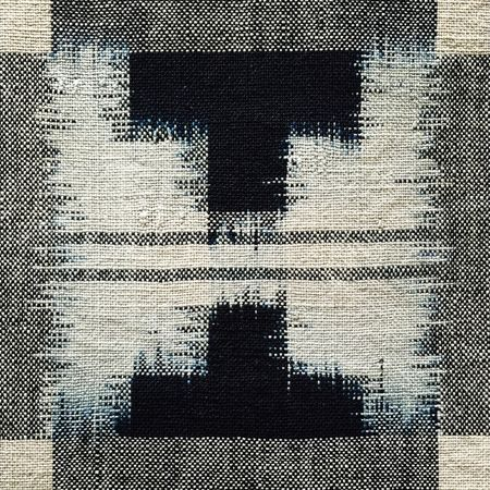 Asian Tribal Art Double Ikat Futon Cover Japan