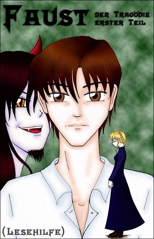 Faust - der Tragödie erster Teil (Lesehilfe), Kapitel 1: Faust - Dōjinshi von SSjUmi auf Animexx.de