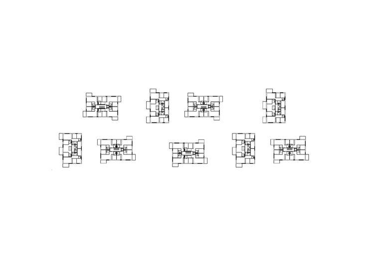 Imagem 11 de 14 da galeria de Complexo Residencial Sonnenhof / Fischer Architekten. Planta Baixa