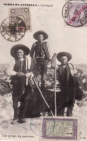 Um grupo de pastores, Serra da Estrela