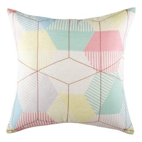Slice Cushion 50x50cm  Multi