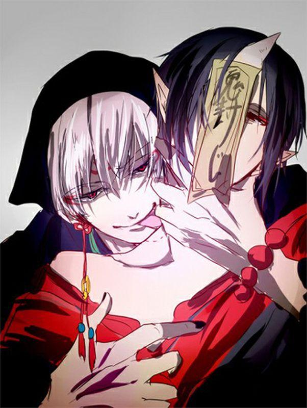 Hoozuki & Hakutaku   Hoozuki no Reitetsu #anime