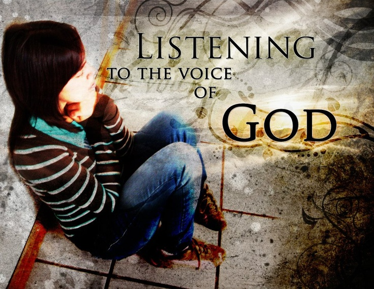 how to talk to god and hear him