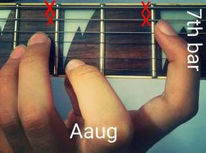 LEARN 5 DIFFERENT RELEVANT SHAPES OF THE AUGMENTED CHORDS....ALL GUITARISTS SHOULD GO THROUGH IT AND A MUST FOR ALL THE JAZZ LOVERS :)....JUST CLICK ON THE LINK:  http://musicterrene.com/2015/08/31/aaug/