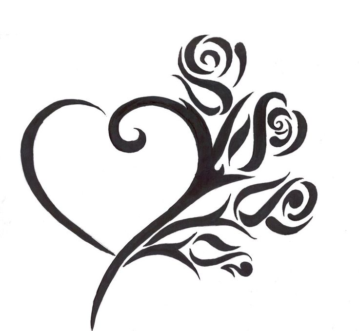 38 best heart tattoo design template images on pinterest for Heartbeat design