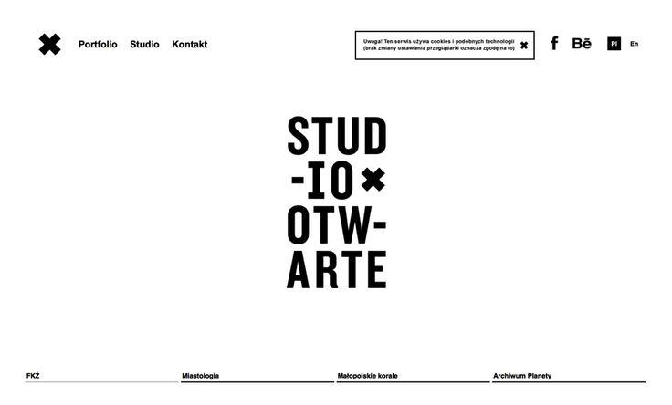 Studio Otwarte Agencja Brandingowa - projektowanie logo i identyfikacji wizualnej.
