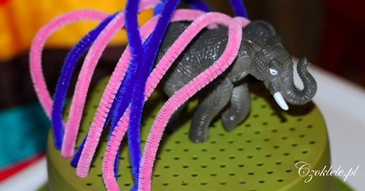 Plush stick - simple DIY toys for kids  Druciki kreatywne - proste zabawki DIY dla dzieci