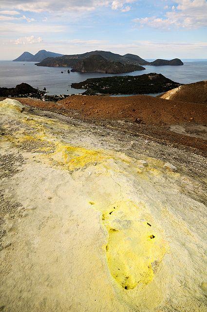 Vulcanello - Lipari - Salina - Aeolian Islands - Sicily  Italy